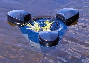 Скриммер для очистки прудов