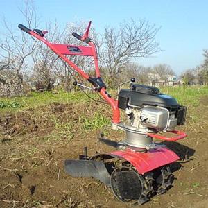 Как посадить картошку мотоблоком
